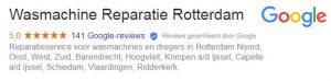 reviews voor wasmachine reparatie Tilburg